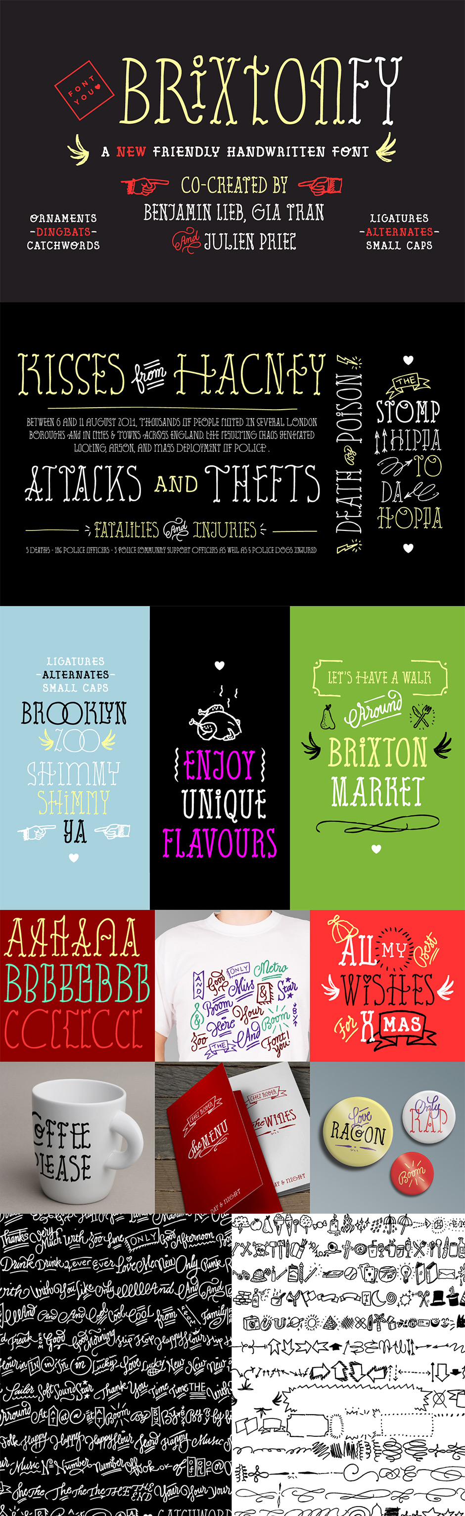 30 Best Selling Creative Fonts