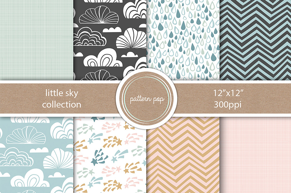 Patterns, Textures and Backgrounds Bundle