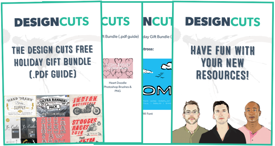 The Design Cuts Holiday Gift Bundle