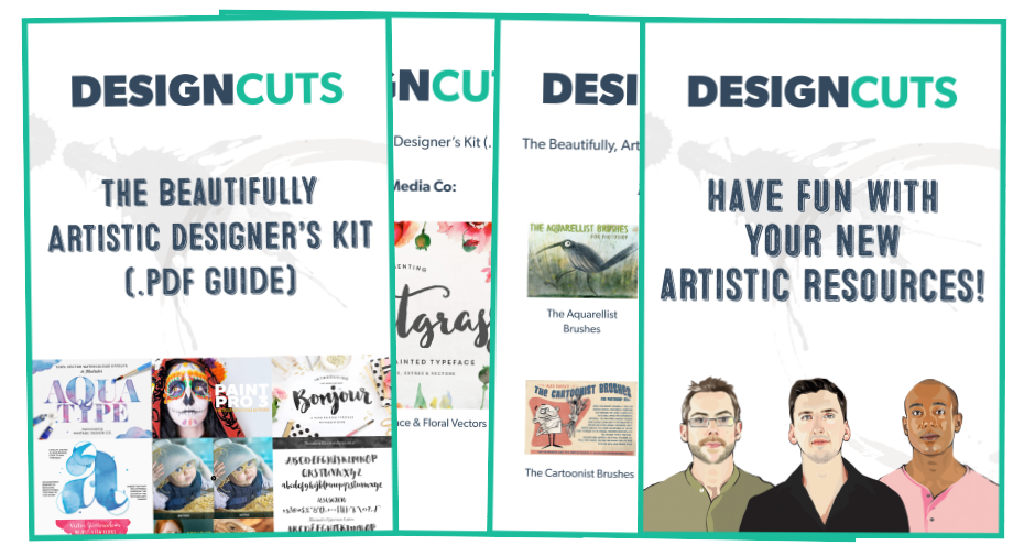 The Beautiful Artistic Design Kit Preview