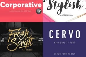 22 World Class Quality Fonts (With Web Fonts & Extended Licensing)