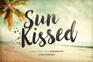 Sun Kissed Brush Font (Plus Bonus Brushography Pack)