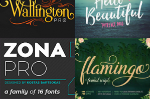 The Font Geek's Go-to Bundle (20 Font Families, 200+ Individual Fonts)