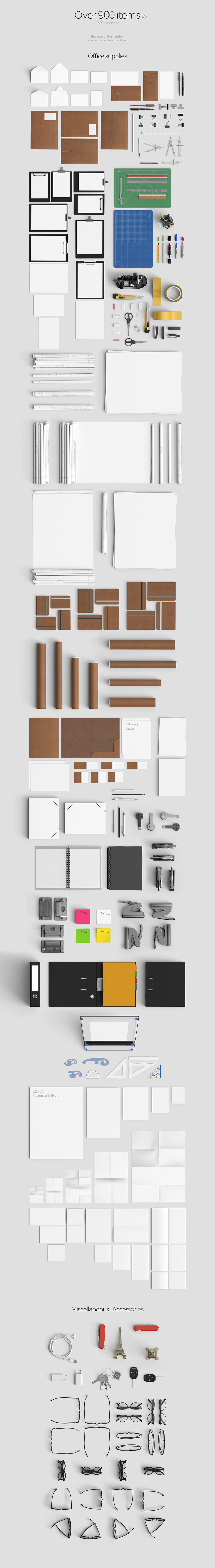 The Most Extensive Mockup Templates Bundle Of All Time