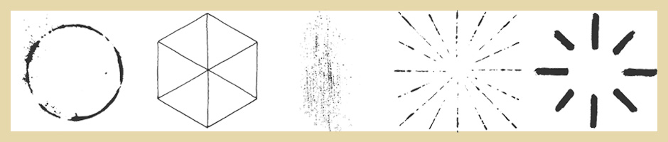 Vector pack of Sunbursts, Geographic Shapes, Ornaments and Coffee Stains