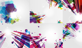 Abstract, Modern Backgrounds for Photoshop and Illustrator