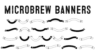 Microbrew Font BannersPack