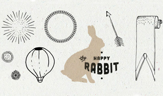 Sunburst, Activity, Rabbit and Banners Vectors Pack