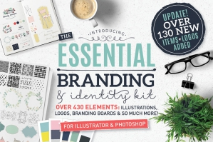 Essential Branding & Identity Kit for Photoshop and Illustrator