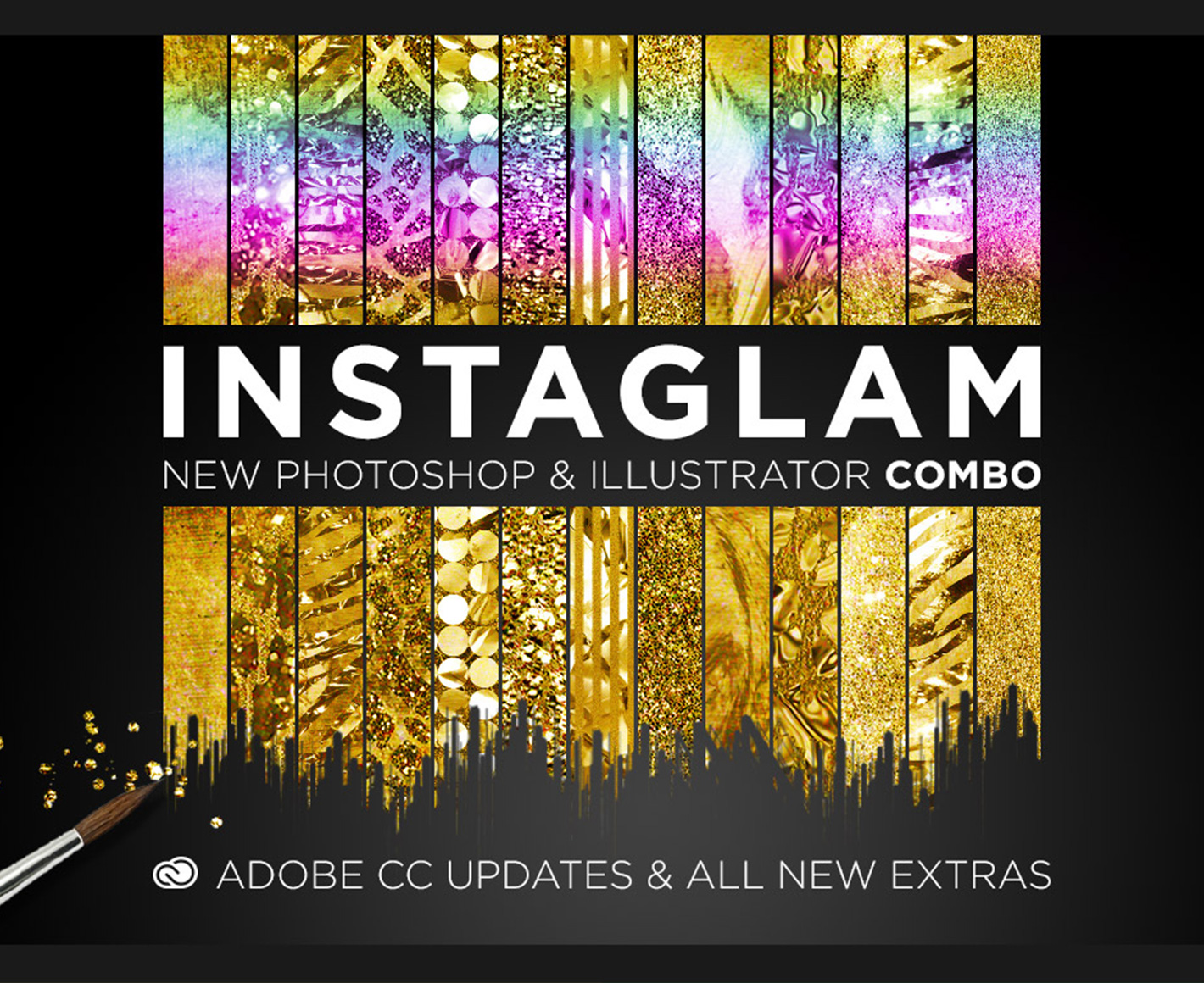 InstaGlam - Creative Cloud Combo (for Photoshop and Illustrator)