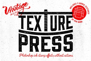 TexturePress - Ink Stamp Effects