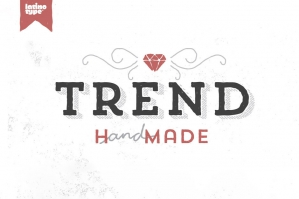 Trend Hand Made Font Family
