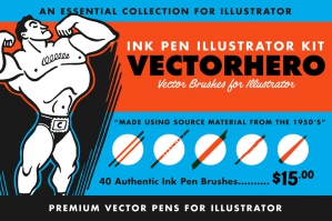 VectorHero | Brushes for Illustrator