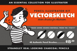 VectorSketch | Pencil Brushes