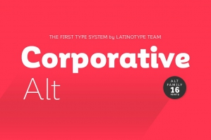 Corporative Font Family