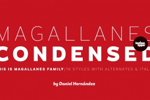 Magallanes Condensed Font Family