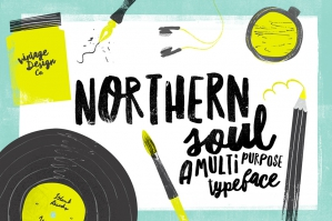 Northern Soul - Typeface