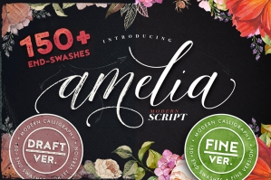 Amelia Script – Fine and Draft Version