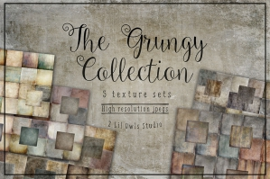 The Grungy Texture Collection