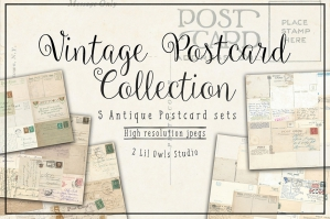 Vintage Postcards Collection. 70% Off Regular Price
