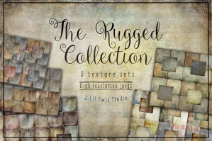 The Rugged Texture Collection. 87% Off Regular Price