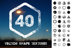 40 Vector Shape Textures