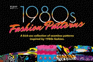 1980s Retro Fashion Patterns