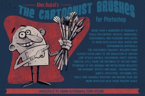 The Cartoonist Brushes - Version 1.4