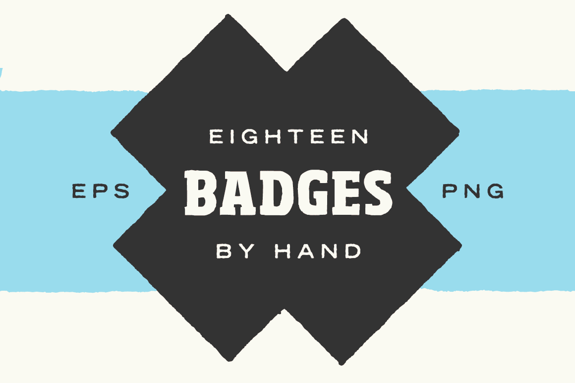 Badge Shapes - By Hand