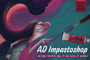 AD Impastoshop – Thick Paint Machine