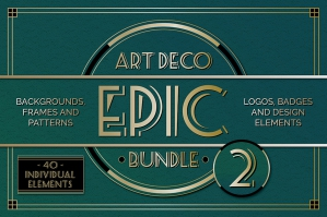 Art Deco Graphics Collection Vol: Two