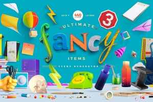 Fancy Items Scene Generator Version 3