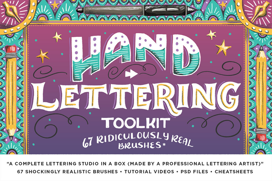 The Hand Lettering Toolkit