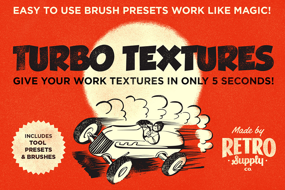 Turbo Textures – 5 Second Textures