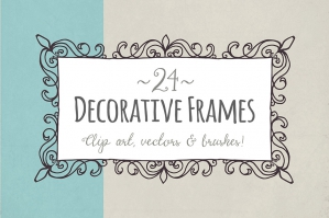 Decorative Frames – Vector