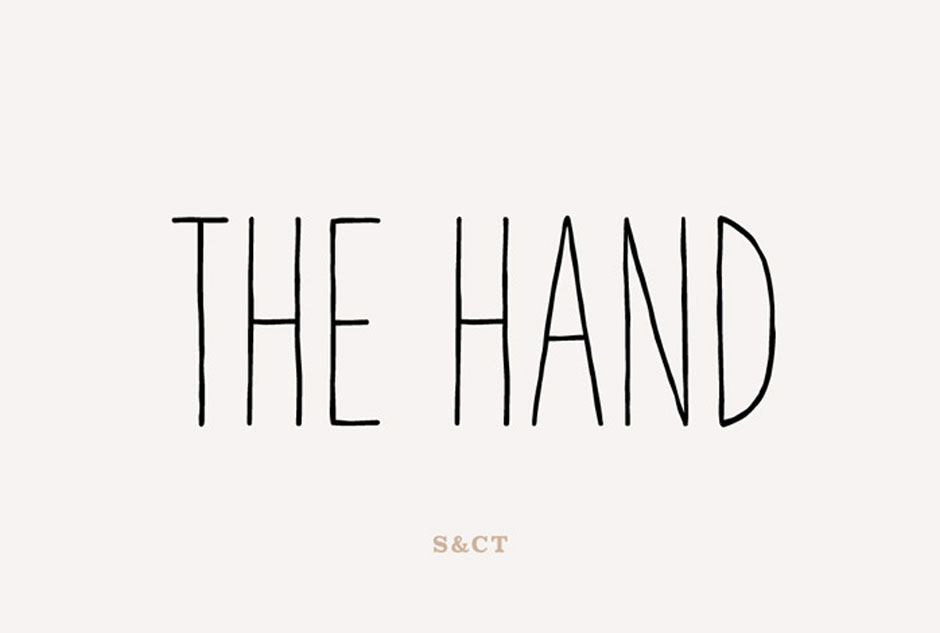 The Hand Font Pack