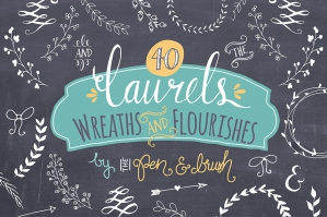 Laurels & Wreaths – Vector