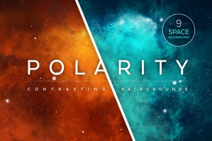 Polarity Space Backgrounds