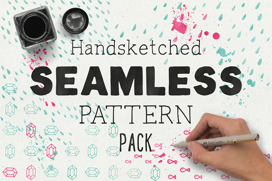 Hand-sketched Seamless Patterns