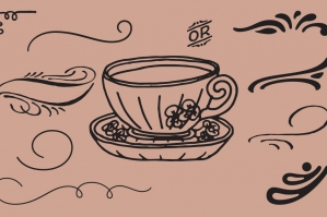 Hand-drawn Swirls, Swashes, Ornaments & Illustrations Pack