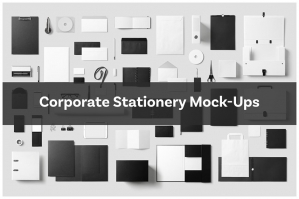 Corporate Stationery Mock-Ups