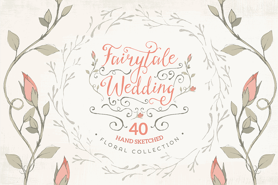Fairytale Wedding Floral Collection