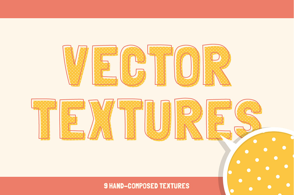 Hand-made Vector Textures