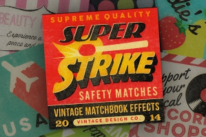 Super Strike Matchbook Effects