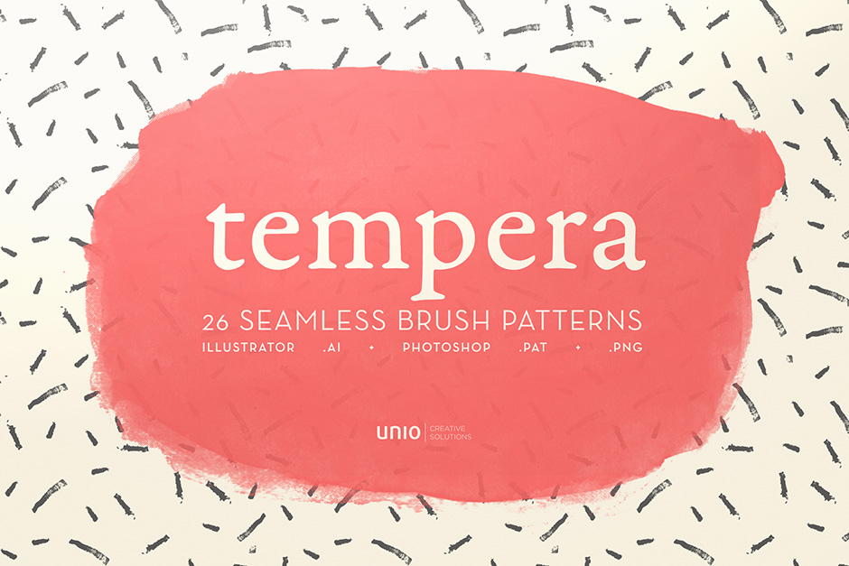 Tempera Brush Patterns