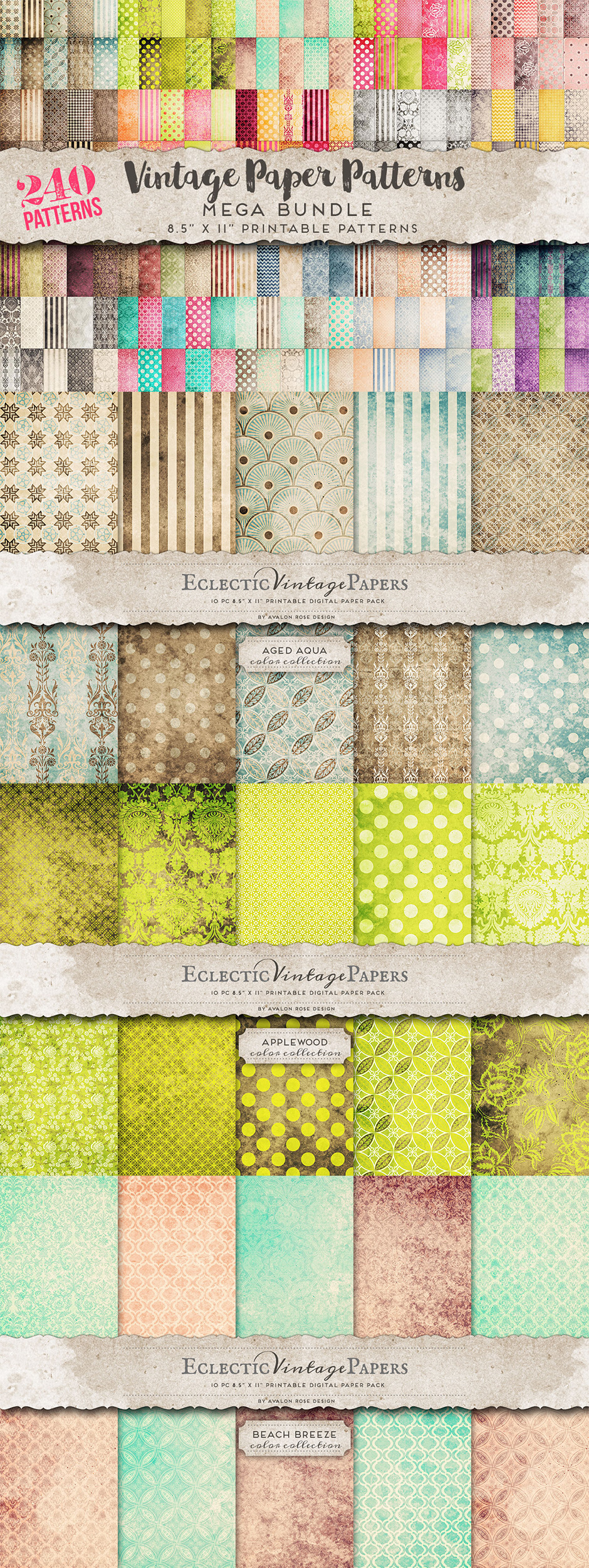 The Gigantic Textures and Patterns Bundle