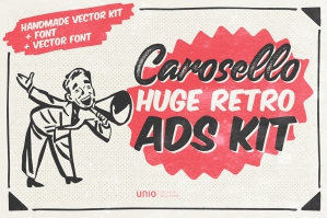 Carosello – Huge Retro Ads Kit