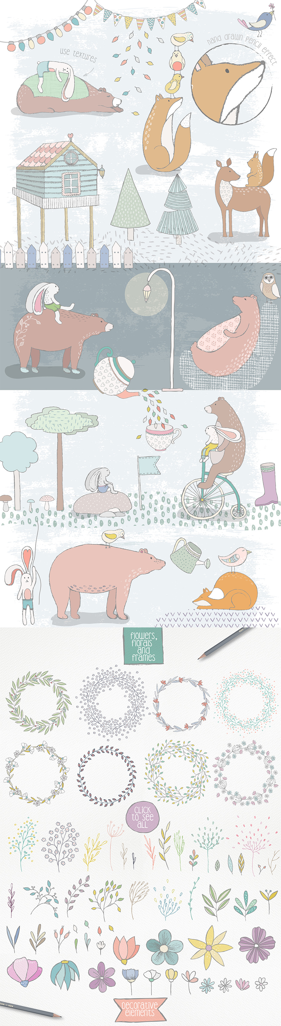 Cute Forest Collection