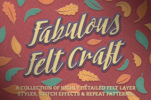 Felt Craft Stitches Styles