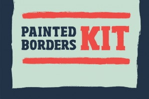 Hand Painted Borders Kit